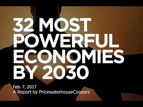 32 Most Powerful Economies in 2030