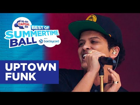 Bruno Mars - Uptown Funk (Best of Capital's Summertime Ball) | Capital