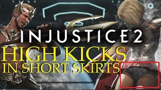 High Kicks In Short Skirts - Aquaman Online - INJUSTICE 2