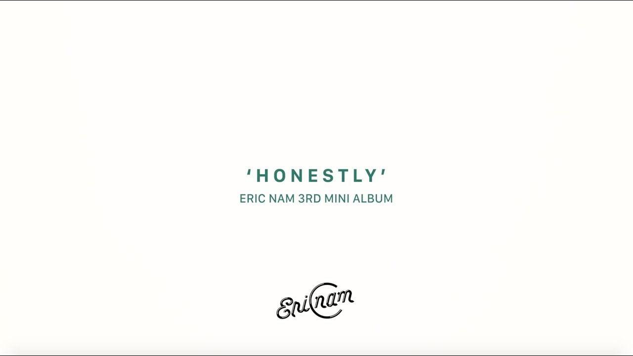 Eric Nam - Honestly - Album Spoiler