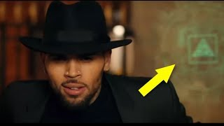CHRIS BROWN IS AN ILLUMINATI SATANIC SELLOUT