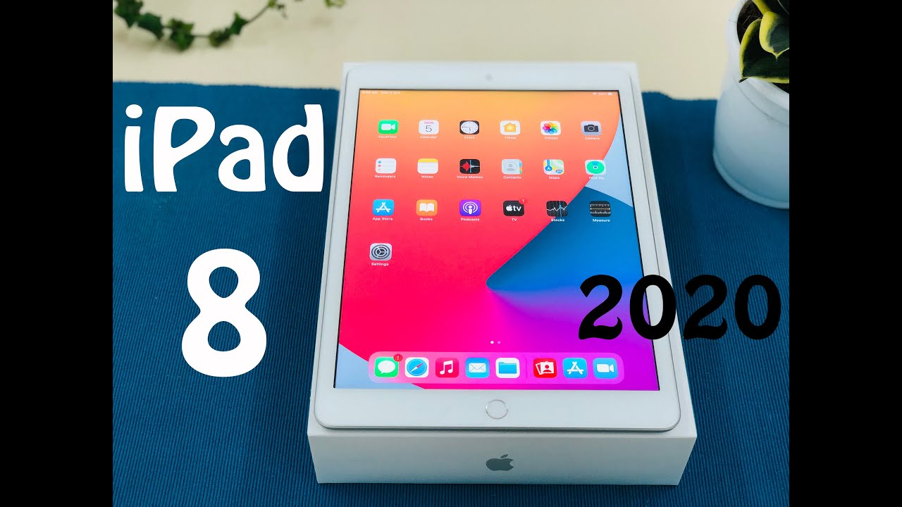 2020 iPad 8th Gen - Unboxing and First Look I iPad 8 ...