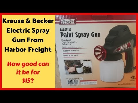 krause-becker-sprayer-review---spraying-cabinets