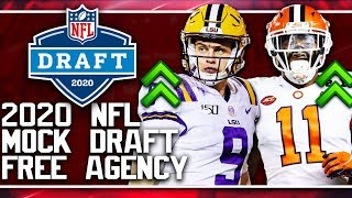 2020 NFL Mock Draft | NFL Free Agency 2 Round Mock Draft
