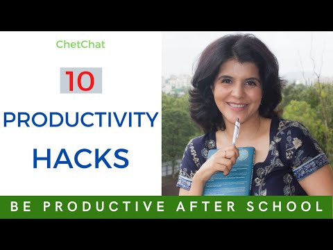 How To Be Productive After School | 10 Study Hacks | Study Tips | ChetChat