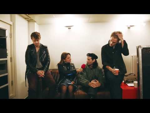 Backstage met Foster the People in Paradiso