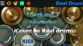Download Tones and   - Dance Monkey (Cover by Real Drum)