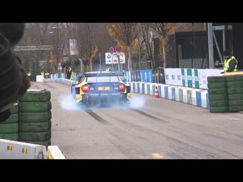 Failed Burnouts: Susie Wolff  - AMG C-Class Stars and Cars 2014