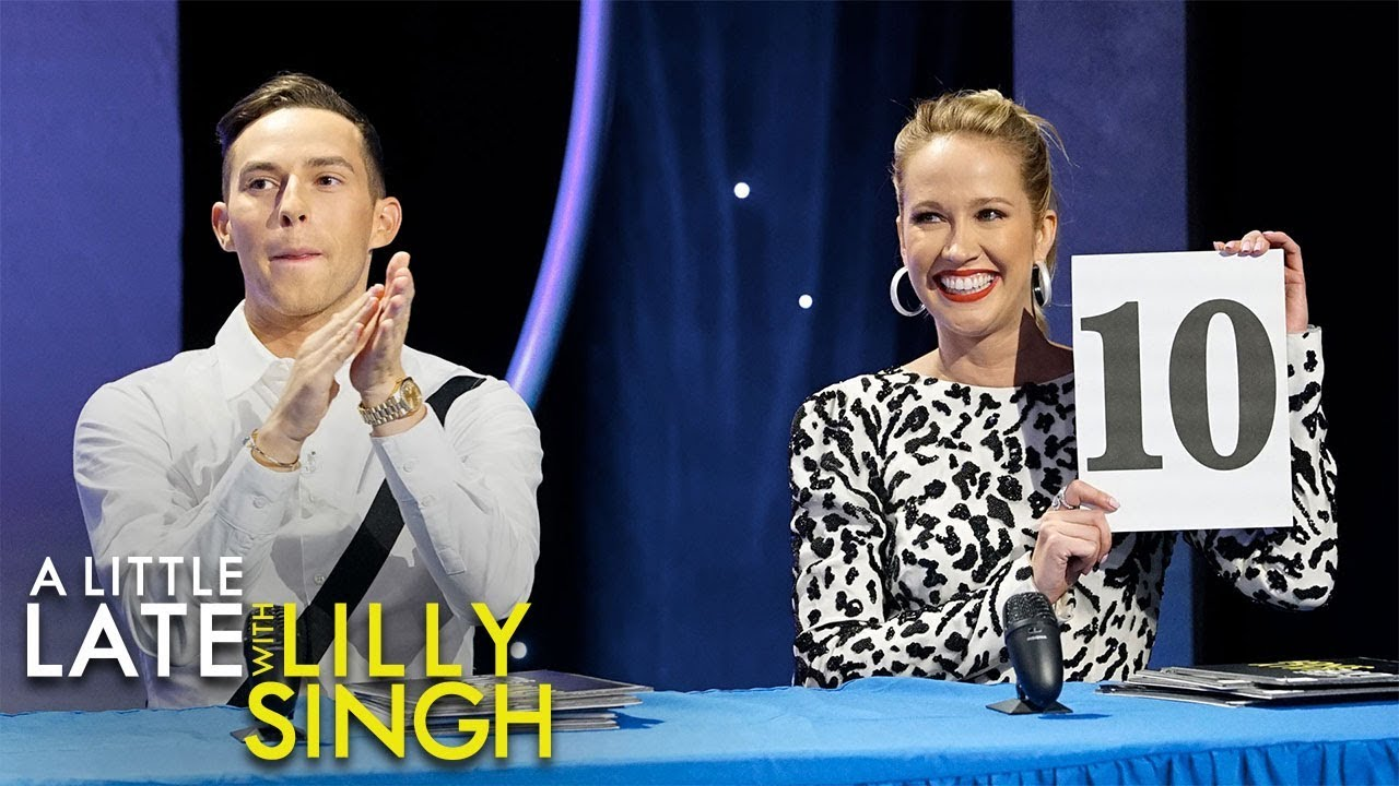 Lilly's Audience Got Skillz? Adam Rippon and Anna Camp Edition