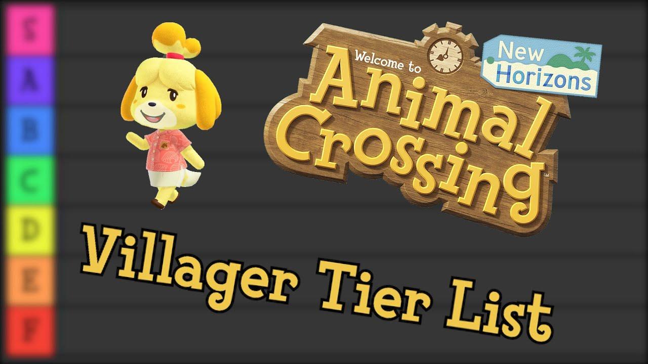 Animal Crossing Character Tier List Youtube
