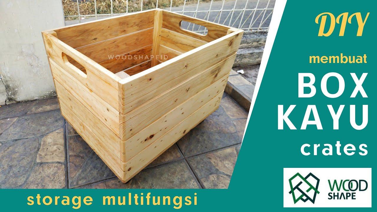 Membuat Kotak Kayu / Peti Buah / Crate Dari Kayu Bekas ...