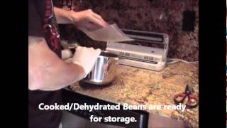 Cook-Dehydrate and Store-Rice & Beans