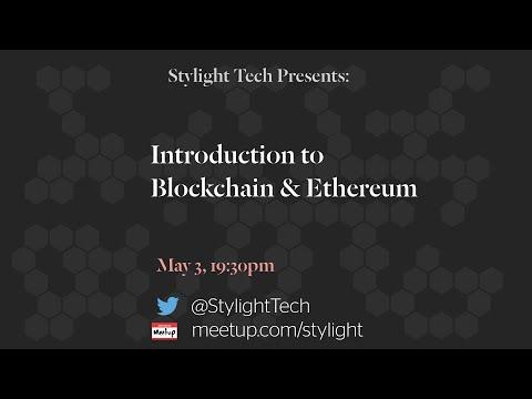 Introduction to Blockchain / Ethereum
