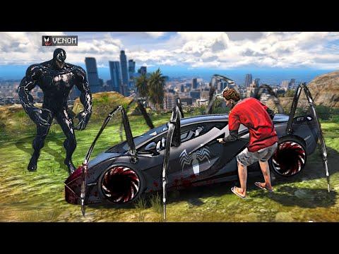 I Stole VENOMS Supercars In GTA 5.. (Mods)