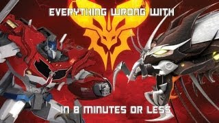 Everything Wrong With Predacons Rising in 8 Minutes or Less (CinemaSins Parody)
