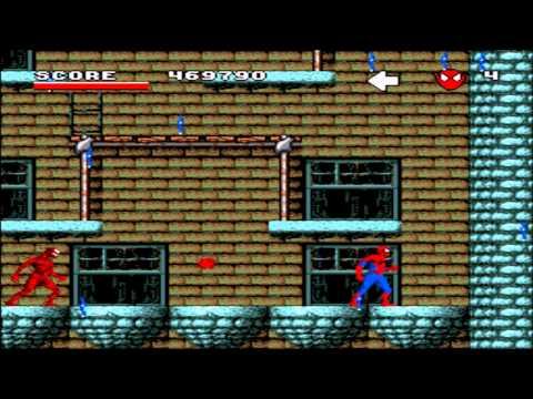 [SNES] Spider - Man and the X-Men: Arcade's Revenge Прохождение / Walkthrough