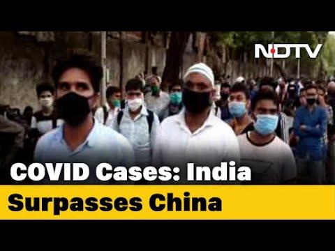 Coronavirus - With 84,712 Cases, India Crosses China's COVID-19 Tally