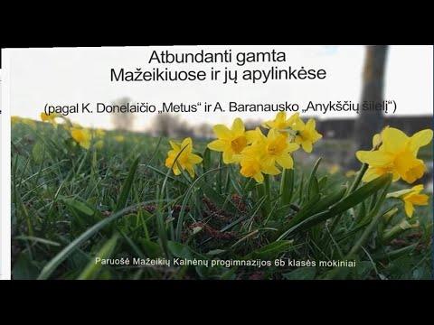 2021-04-20 Pavasaris literatūroje ir gamtoje