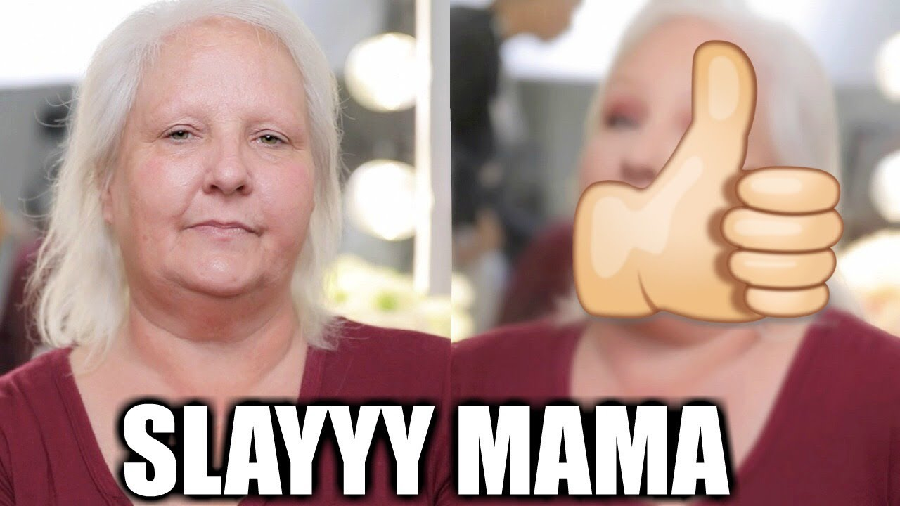 I GAVE MY MOM A MAKEOVER!