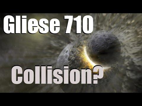 gliese 710 collision