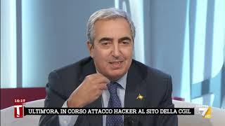 Attacco alla CGIL, Maurizio Gasparri: