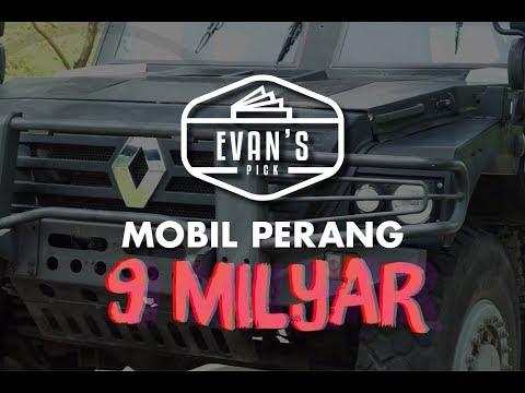 EVAN'S PICK: JALAN JALAN NAIK MOBIL PERANG HARGA 9 MILYAR