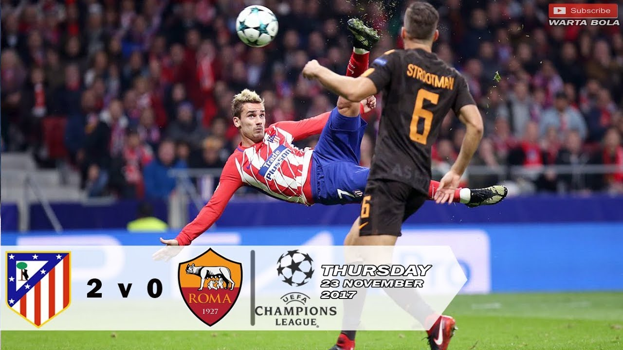 Roma Vs Atletico Madrid