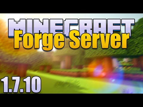 How To Make Minecraft Forge Server Using Port Forwarding