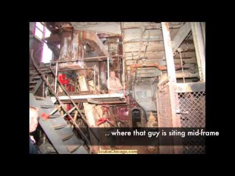 Straights of Mackinac - Wreck Dive - Lake Michigan 10.02.09