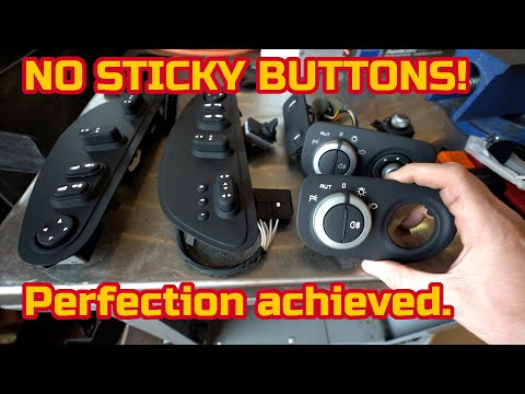 The BEST SOLUTION to fixing the FERRARI STICKY BUTTONS PROBLEM