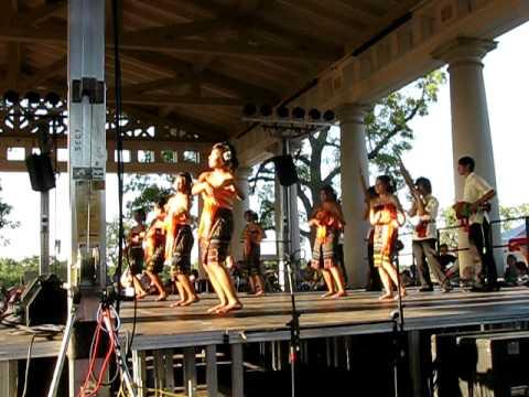 Lao Dancers at the Kansas City Ethnic Enrichment Festival Part 2