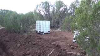 Water Tank in Now What? - Living off the Grid AZHotHomestead