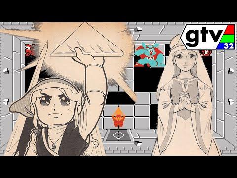 The Legend of Zelda 1 NES Manga Comic Hyrule Fantasy Famicom Disk System English Translation Dub GTV