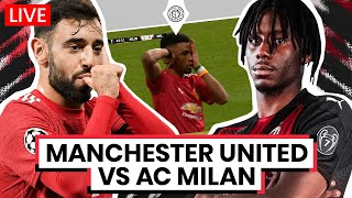 Manchester United 1-0 AC Milan | AMAD DIALLO GOAL | LIVE Stream Watchalong