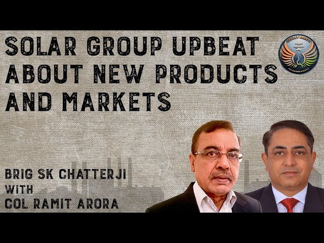 Solar Group Upbeat about new Products and Markets