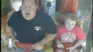 Funniest roller coaster reaction