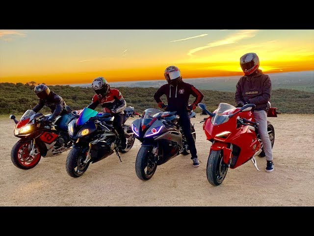 Paseo en superbikes