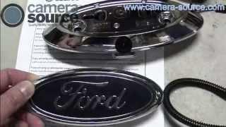 Camera Source Ford F150 F250 F350 Backup Camera Kit Installation Gyro Mirror Cs