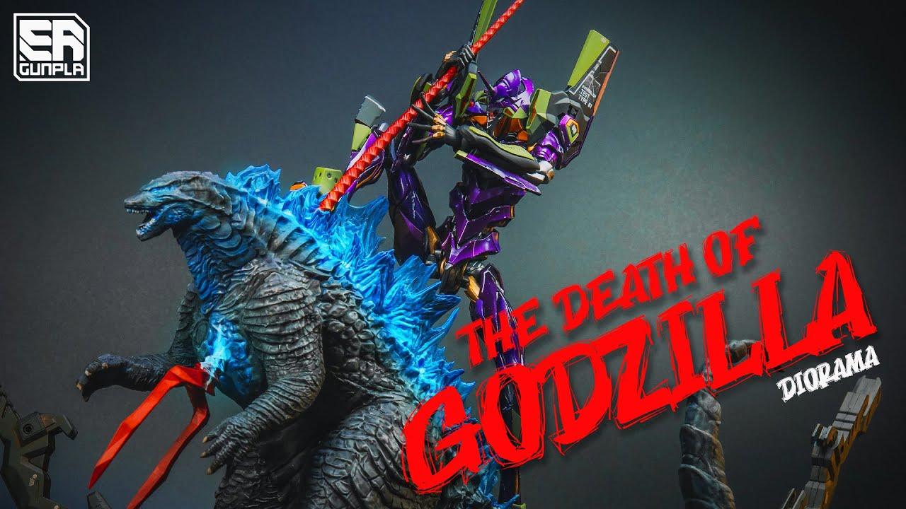 Diorama Godzilla vs Evangelion   The Death of Godzilla