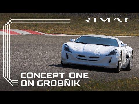 Testing the Concept_One on Grobnik Racetrack with Juraj Šebalj