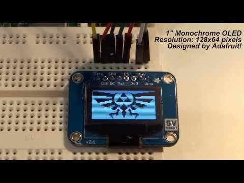 Raspberry Pi - OLED Displays! - YouTube