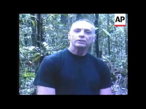 WRAP Colombia releases seized video of hostages; reax from Betancourt's son
