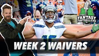 Fantasy Football 2018 - Week 2 Waivers & QB Streamers, Mooses - Ep. #604