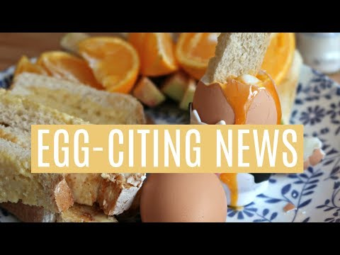 IMPORTANT NEWS FOR PREGNANT WOMEN - WE CAN NOW EAT RUNNY EGGS! #ad