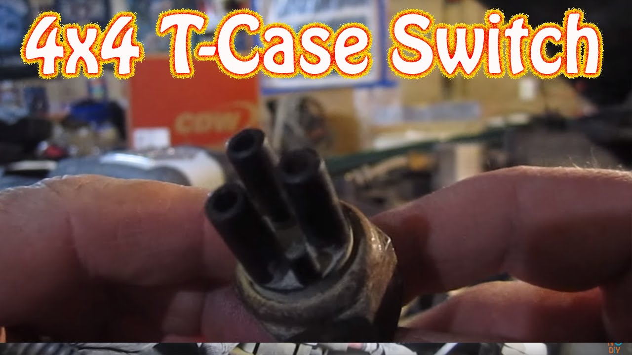 hight resolution of chevy blazer gmc jimmy 4wd transfer case vacuum switch location 4x4 repair youtube
