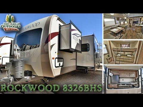 2017 FOREST RIVER ROCKWOOD 8326BHS R1061 Colorado RV Dealer Sales