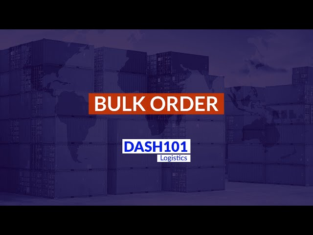 How to upload multiple orders with the bulk order creation feature?