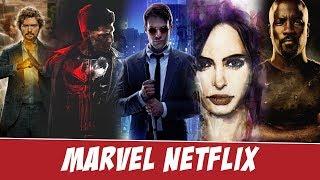 Сериалы Marvel Netflix - краткое мнение