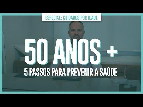 50 ANOS (+) - 5 PASSOS PARA PREVENIR A SAÚDE