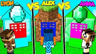 Casa Diamante Contro Terra Contro Smeraldo Su Minecraft